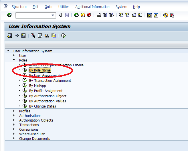 tcode for authorization object in sap bw