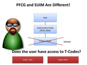 SUIM is not Identical to PFCG!